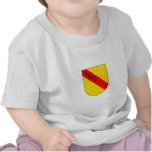 Coat of arms of Baden with writing T-shirt