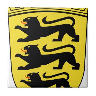 Coat_of_arms_of_Baden-Württemberg_(lesser) Ceramic Tile