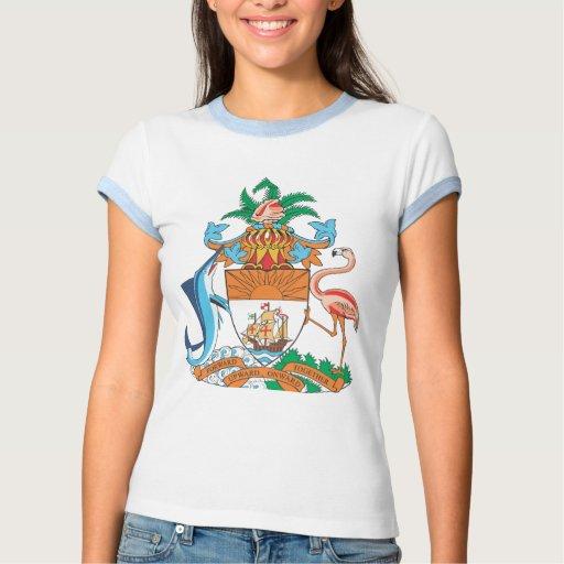 Coat of arms of Bahamas Tee Shirts