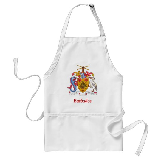 Coat of arms of Barbados Adult Apron