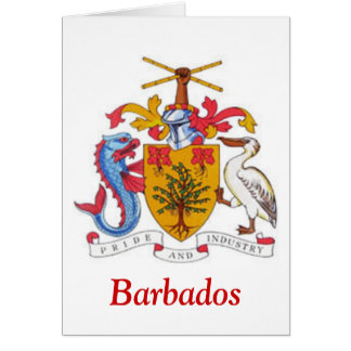 Coat of arms of Barbados Cards