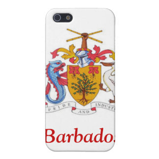 Coat of arms of Barbados Cover For iPhone 5
