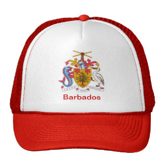 Coat of arms of Barbados Trucker Hat