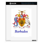 Coat of arms of Barbados NOOK Decals