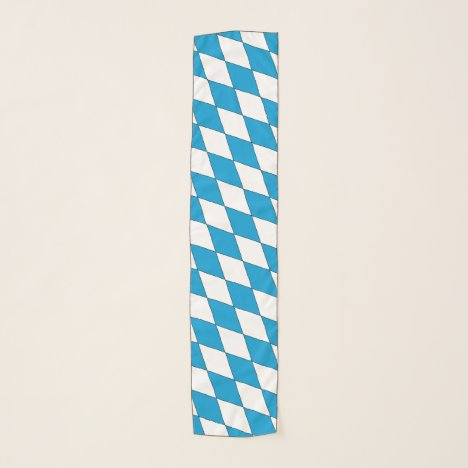 Coat of arms of Bavaria in blue and white Scarf