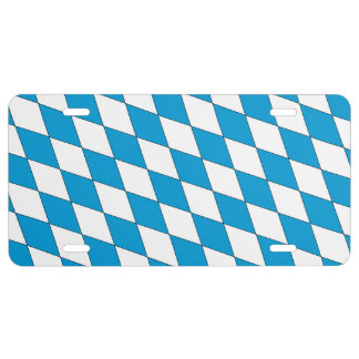 Coat of arms of Bavaria License Plate