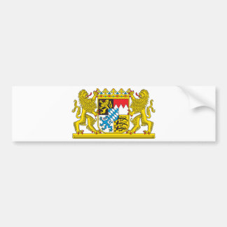 Coat of Arms of Bavaria Official Germany Symbol Bumper Sticker