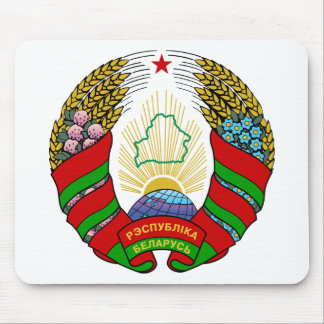 Coat of arms of Belarus Mouse Pad