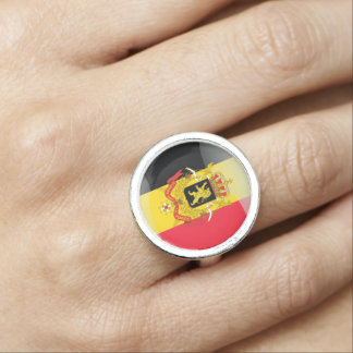 Coat of arms of Belgium Photo Ring