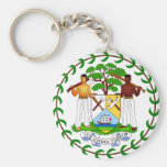 Coat of arms of Belize Keychain