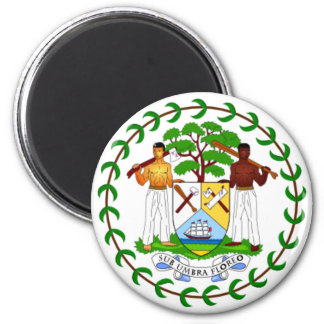 Coat of arms of Belize Refrigerator Magnet