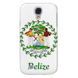 Coat of arms of Belize Samsung Galaxy S4 Cases