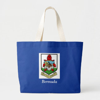 Coat of Arms of Bermuda Canvas Bags