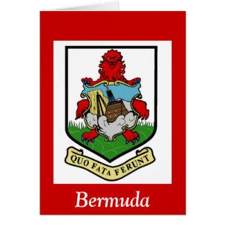 Coat of Arms of Bermuda Card