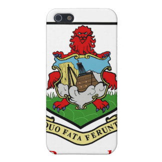 Coat of Arms of Bermuda Cases For iPhone 5