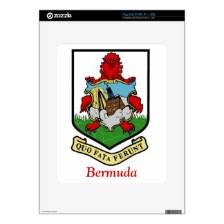 Coat of Arms of Bermuda Decals For iPad