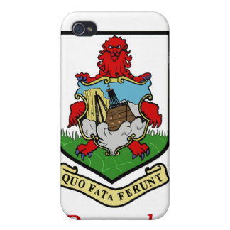 Coat of Arms of Bermuda iPhone 4/4S Case