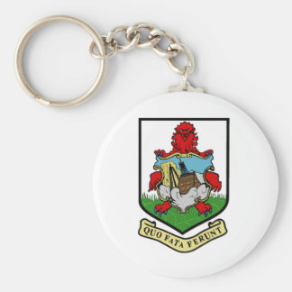 Coat of Arms of Bermuda Key Chains