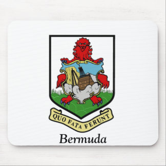 Coat of Arms of Bermuda Mouse Pad