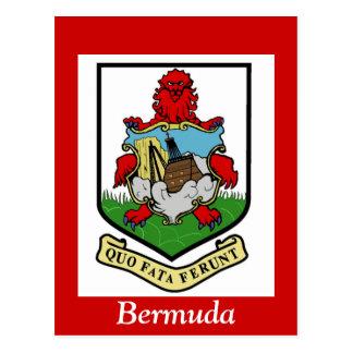 Coat of Arms of Bermuda Postcard