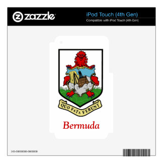 Coat of Arms of Bermuda Skin For iPod Touch 4G