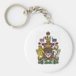 Coat of Arms of Canada Keychain