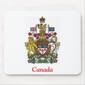 Coat of Arms of Canada Mouse Pad