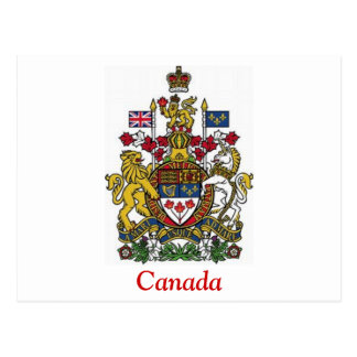 Coat of Arms of Canada Postcard