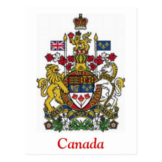 Coat of Arms of Canada Postcards