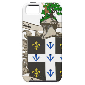 Coat of Arms of Charles F. Banks of Atlanta 1896 iPhone SE/5/5s Case