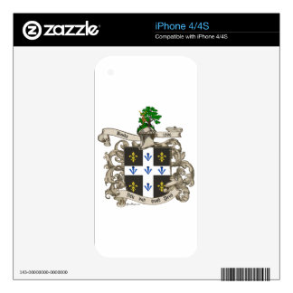 Coat of Arms of Charles F. Banks of Atlanta 1896 Decal For The iPhone 4