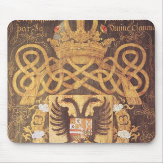 Coat of Arms of Charles V  of the 23rd Chapter Mouse Pad