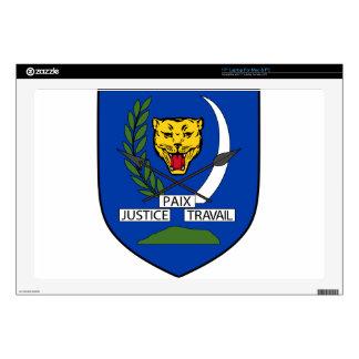 "Coat_of_arms_of_Congo-Kinshasa_(1963-1971). Skin For 17"" Laptop"