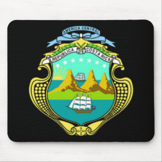 Coat of arms of Costa Rica Mouse Pads