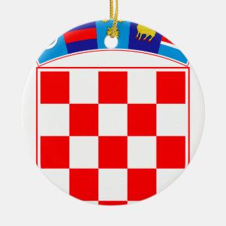 Coat of arms of Croatia, Croatian Emblem, Hrvatska Ceramic Ornament