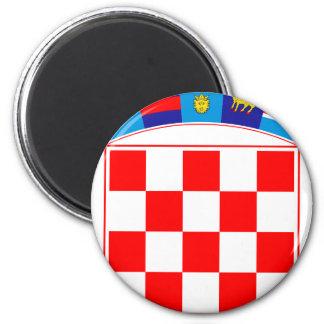 Coat of arms of Croatia, Croatian Emblem, Hrvatska Magnet