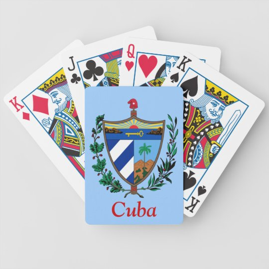 Coat of arms of Cuba Bicycle Playing Cards