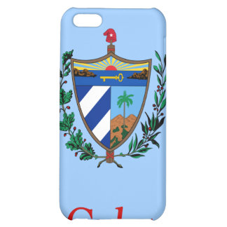 Coat of arms of Cuba iPhone 5C Cases