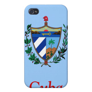Coat of arms of Cuba Cover For iPhone 4