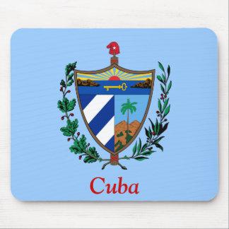 Coat of arms of Cuba Mousepads