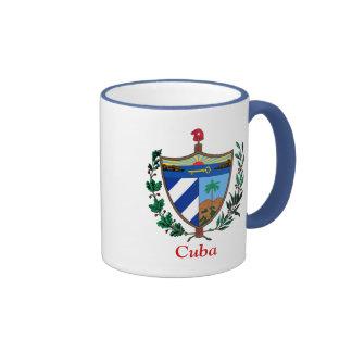Coat of arms of Cuba Ringer Coffee Mug