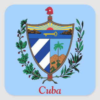 Coat of arms of Cuba Stickers