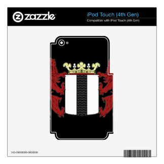 Coat of arms of Delft Decal For iPod Touch 4G