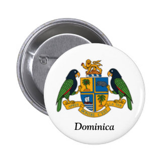 Coat of arms of Dominica Buttons