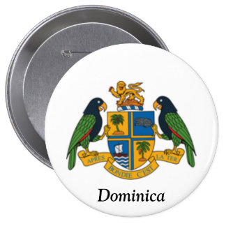 Coat of arms of Dominica Pin