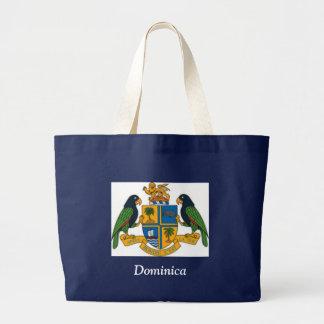 Coat of arms of Dominica Jumbo Tote Bag