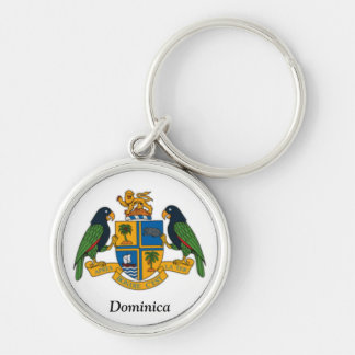 Coat of arms of Dominica Keychain