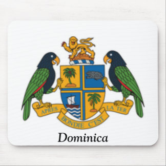 Coat of arms of Dominica Mouse Pad