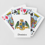 Coat of arms of Dominica Poker Deck