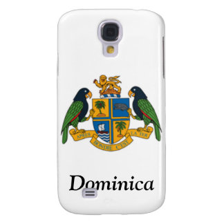 Coat of arms of Dominica Samsung Galaxy S4 Cases
